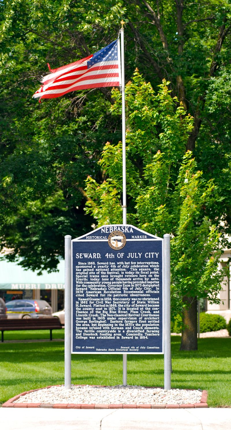 4th of July City Historical Marker